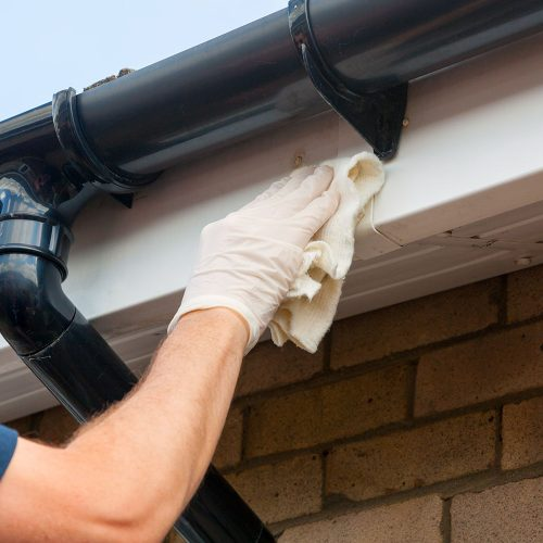 Shiny Bright Gutter Fascia and Soffit Cleaning
